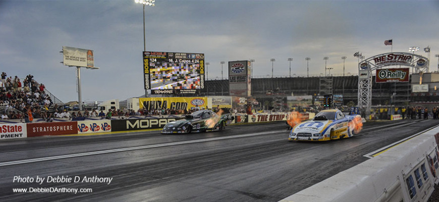 NHRA Drag Racing in Las Vegas